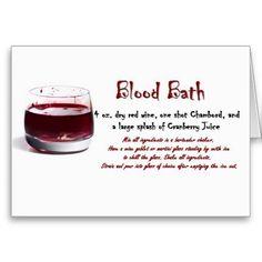 Blood Bath drink recipe