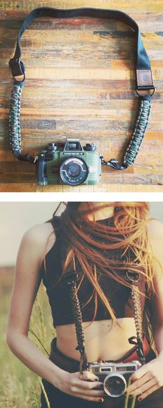 Rugged camera strap / Langly