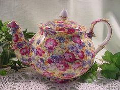 The Stage Stop Online - Chintz, Royal Winton Chintz, Grimwades, Spode, Burleigh Ware, Calico, and other fine China