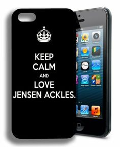 Keep Calm and Love Jensen Ackles Dean Winchester Supernatural Iphone 4 Case