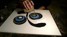 Fluid Painting Technique - MelyD.art Style