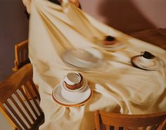 Juxtapoz Magazine - Woman Twirling and other photographs by Jo Ann Callis