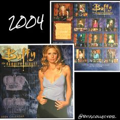 Buffy the Vampire Slayer - 2004 Calendar  #btvscollector #btvs #buffy #buffythevampireslayer