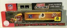 (TAS003231) - NFL Team Limited Edition Peterbilt Tractor-Trailer - Redskins