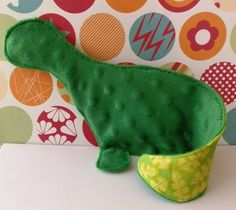 Ever heard of a dinosaur skin?   Well now you have.    Dinosaur Skin - Crinkly Baby Lovey Blanket Green Minky.