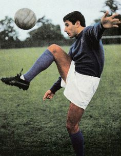 July 1971. Ipswich Town's South African playmaker Colin Viljoen living up to his nickname Ace..