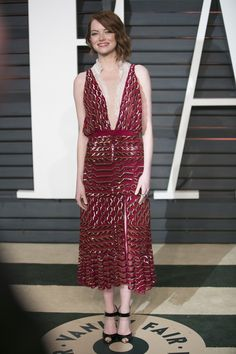 Emma Stone | And Here's What Everyone Wore To The Oscars After Parties