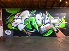 Collection of artwork by Greg Craola Simkins including paintings, illustrations, drawings, graffiti. Graffiti Wall Art, Street Art Graffiti, Wall Murals, Wildstyle, Spray Paint Art, Amazing Street Art, Creative Lettering, Samurai Art, Urban Art