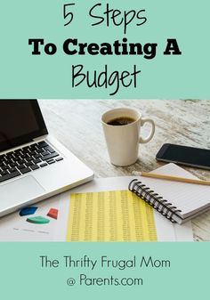 5 Steps To Creating A Budget-A guest post where I discuss 5 steps you can take to create a budget and tips to help you get your finances in order.