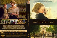 The Zookeeper's Wife DVD Custom Cover