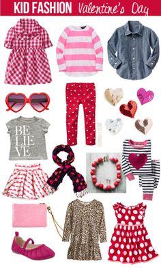Kid Fashion - Valentines Day favorites