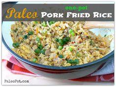 One-Pot Paleo Pork Fried Rice.