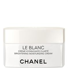 CHANEL - LE BLANC BRIGHTENING MOISTURIZING CREAM More about #Chanel on http://www.chanel.com