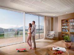 Homeplaza - Rahmenlose Fenster vermitteln ein freies Wohngefühl - Großzügigkeit, die jeden Rahmen sprengt