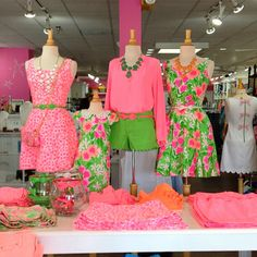 Pink and green outfit Preppy Outfits, Preppy Style, Summer Outfits, Cute Outfits, My Style, Green Outfits, Everything Pink, Green Fashion, Dress Me Up