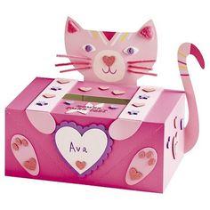 Spritz Valentine's Day Mailbox Kit (Kitty Cat Kit) catvalentine – Ear Cat Valentine, Valentine Boxes For School, Kinder Valentines, Valentine Activities, Homemade Valentines, Valentine Day Crafts, Printable Valentine, Valentine Wreath, Valentine Ideas