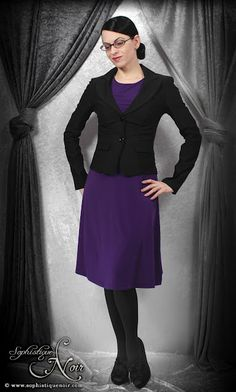 Interview wear for the subtle office goth :-)