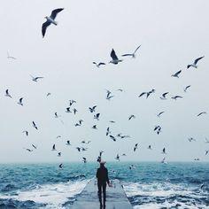 Море внутри - это вечный штиль,