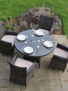 Rattan Garden Dining Sets - https://www.rattanfurniture.co/