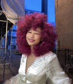 Baddie Hairstyles, Black Girls Hairstyles, Pretty Hairstyles, Dyed Natural Hair, Natural Hair Styles, Long Hair Styles, Black Girl Aesthetic, Aesthetic Hair, Hair Inspo
