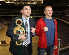 Bei der offiziellen ersten Pressekonferenz gaben sich beide Boxer respektvoll und verzichteten auf vollmundige Ankündigungen.