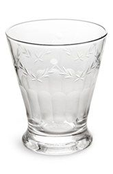 Rosanna 'French Bistro' Etched Drinking Glasses (Set of 4)