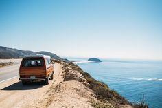 VW Coasting, California