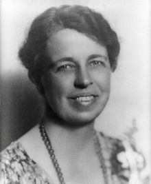 ------------Eleanor Roosevelt-------------  ------(Oct11, 1884 - Nov 7, 1962)------  Roosevelt was a controversial First Lady for her outspokenness, particularly for her stands on racial issues. She was the first presidential spouse to hold press conferences, write a syndicated newspaper column, and speak at a national convention. On a few occasions, she publicly disagreed with her husband's policies.