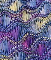Wavy Ribbon scarf