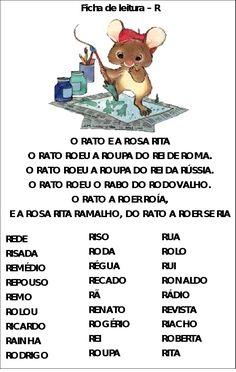 FICHAS DE LEITURA