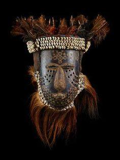 """Kuba-Bushoong Mask """"ngady amwaash"""""""