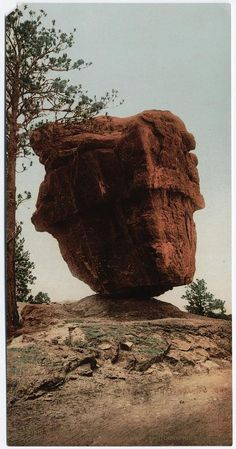 Balanced Rock, Garden of the Gods, Colorado