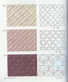 Image result for katia jaipur crochet pattern diagrams