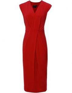 Isabel de Pedro Red Wrap Dress