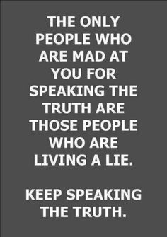 Dare to speak your truth.