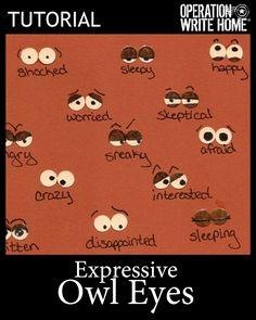 Tutorial - Expressive Owl Eyes