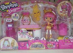 NIB-New-Release-Shopkins-Shoppies-Doll-Pink-Lippy-Lulu-039-s-Beauty-Boutique