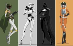 Resultado de imagem para star wars personagens