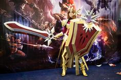 Leona (League of Legends) cosplay