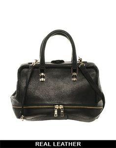 2c78273411 Image 1 of ASOS Leather Doctors Bag Best Handbags
