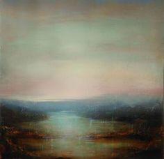 "Saatchi Art Artist louise fairchild; Painting, ""Light Rising"" Louise Fairchild, http://www.louisefairchild.com/"