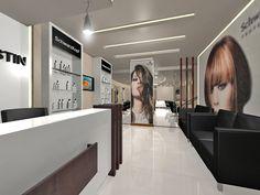 Kerstin Beauty Salon Salon Interior Design, Beauty Salon Design, Beauty Salon Interior, Interior Design Services, Salons, Interiors, Architecture, Salon Interior, Arquitetura