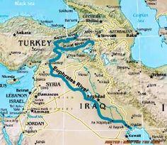 Misteri sungai Eufrat dan Gunung Emas