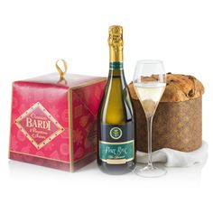 Raise Your Glass for delivery to Italy. No dinner party would be complete without something to drink after. Our experts have put together a gift that is sure to keep your guests a little longer. Your recipient will receive Patisserie Panettone Bardi (750g), and a fine bottle of Sparkling Wine (75cl). Prepare for holiday dinners, welcome new neighbors, or thank a friend with Raise Your Glass.