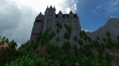 Mountain Castle Minecraft World Save
