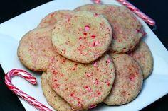 Peppermint Sugar Cookies - Fan freakin' tastic!!!!!!!!