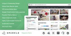 Sparkle – Outstanding Responsive Magazine, News Portal WordPress Theme