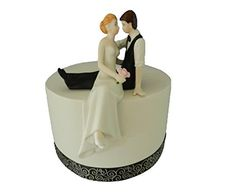 Wedding Treazures Romantic Look of Love Bride and Groom Wedding Cake Topper -- You can get additional details at the image link.