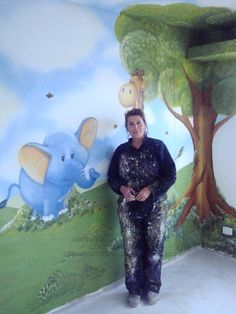 Murales pintados directamente sobre la pared llamanos 310-8805662 sonia velasco muralista decoracioncreativa@gmail.com