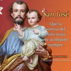 Glorioso San José protector modelo y guía de las familias cristianas: Te ruego protejas a la mía.